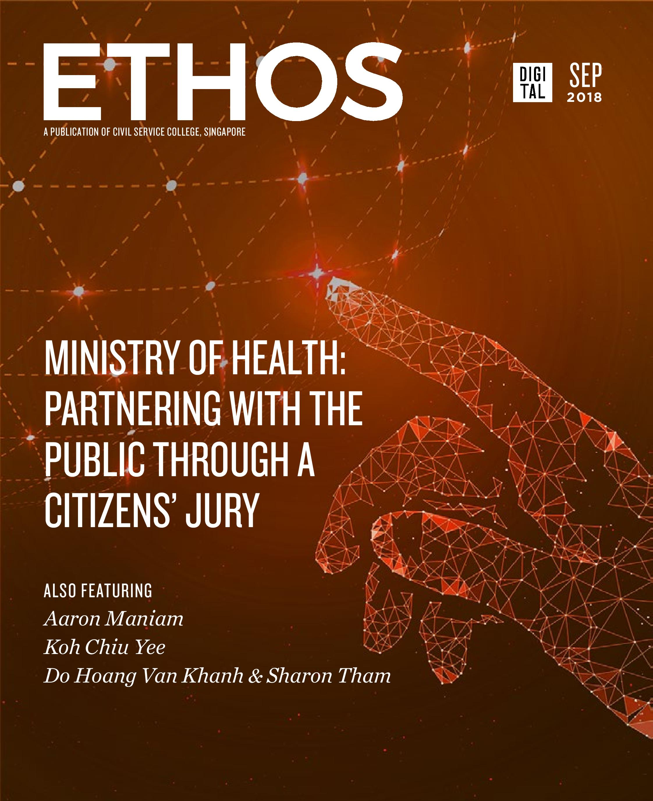 Ethos Digital Issue 3 Cover