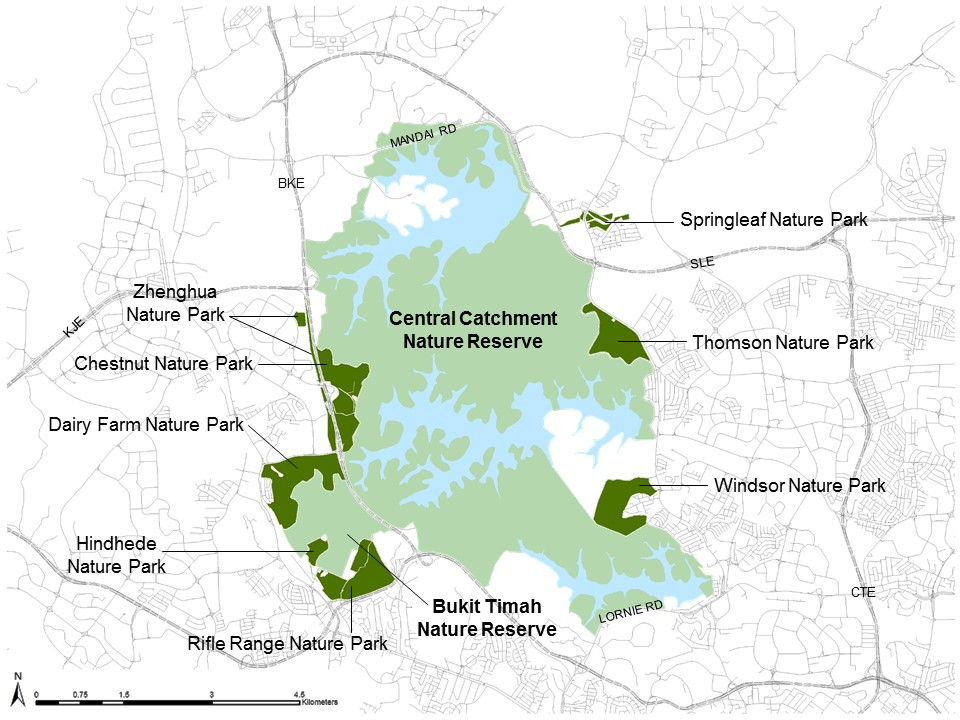 Nature Parks as Buffer Parks