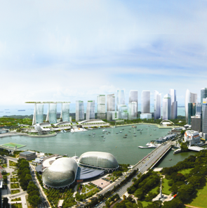 Marina Bay: The Shape of Things to Come